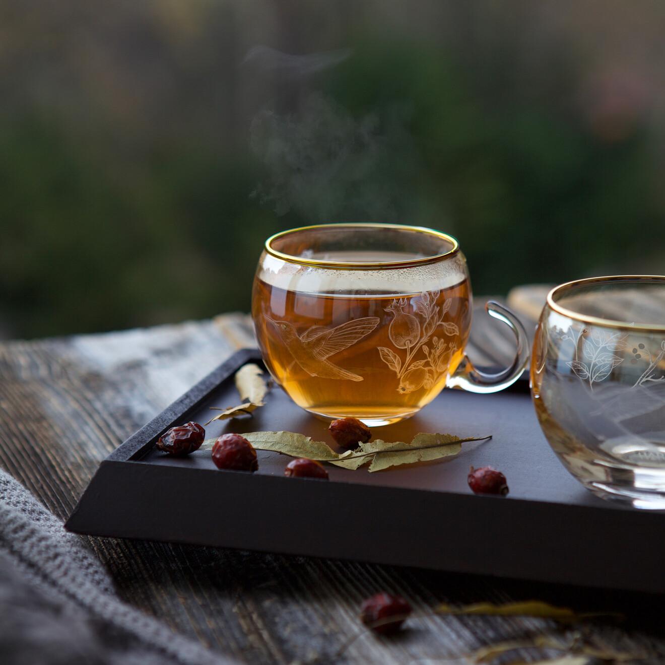 Narlı Bitki Çayı Seti - Thumbnail