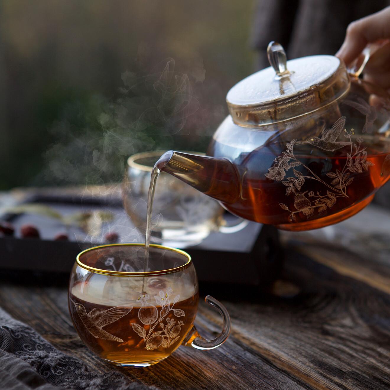 - Narlı Bitki Çayı Seti