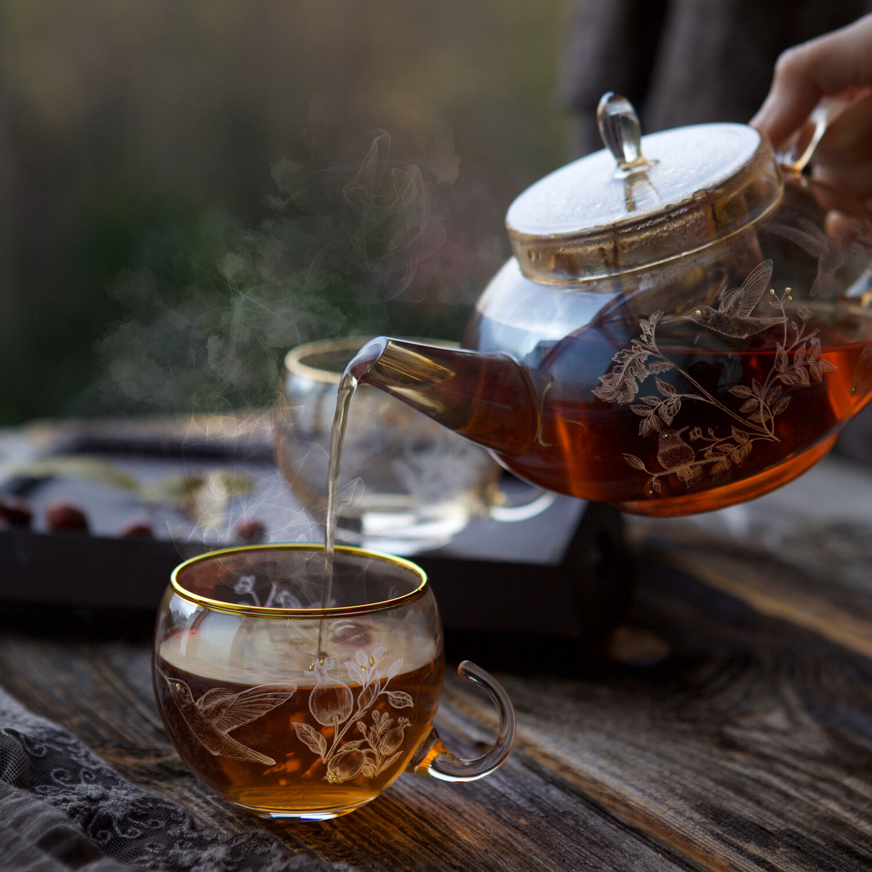 Narlı Bitki Çayı Seti